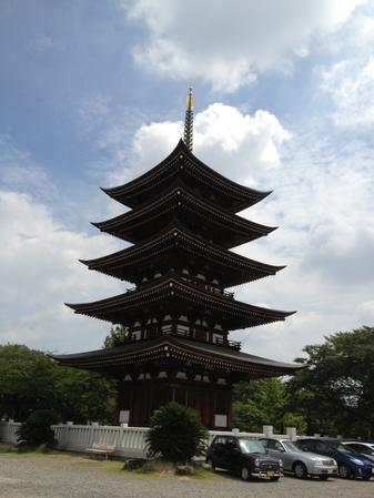 日泰寺 五重塔(変換前)